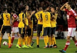 3 TIPS for Nottingham – Arsenal 07-01-2018