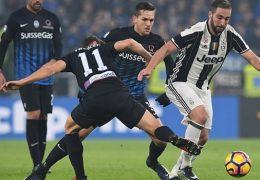 3 Way Tips Juventus – Atalanta 25 February 2018