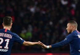 Emotions for the Paris Saint Germain players