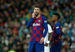 Gerard Pique agreed to juggle toilet paper, but in a different way